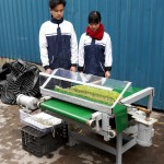 Máy thu hoạch rau mầm tự động – Sáng chế hữu ích của học sinh