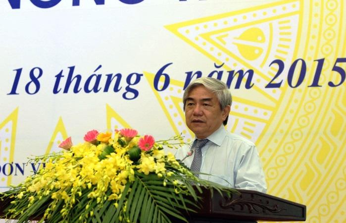 Bo truong bo KH-CN Nguyen Quan