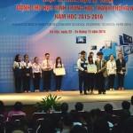 Cuộc thi khoa học kỹ thuật dành học sinh trung học thành phố Hà Nội lần thứ V năm học 2015 – 2016