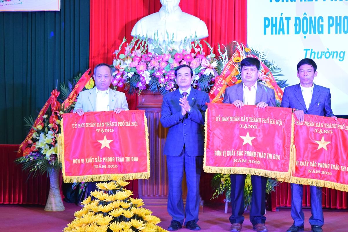 Ha Noi - Huyen thuong tin tong ket phong trao thi dua yeu nuoc 2015 - 2