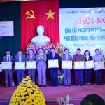 Hà Nội: HuyệnThường Tín tổng kết phong trào thi đua yêu nước năm 2015