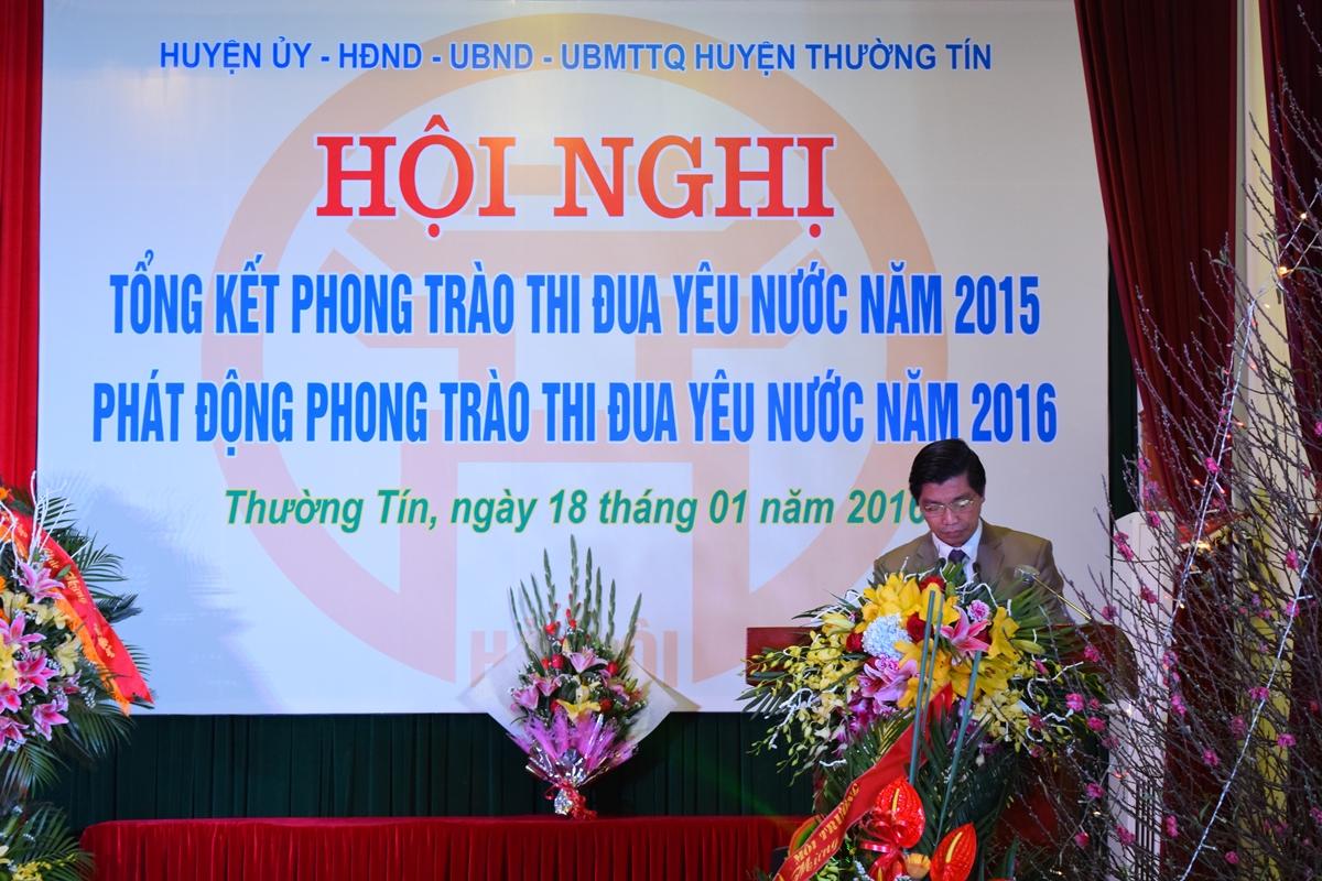 Ha Noi - Huyen thuong tin tong ket phong trao thi dua yeu nuoc 2015 - 9