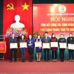LĐLĐ huyện Thường Tín tổng kết công tác công đoàn năm 2015, Phát động phong trào thi đua năm 2016
