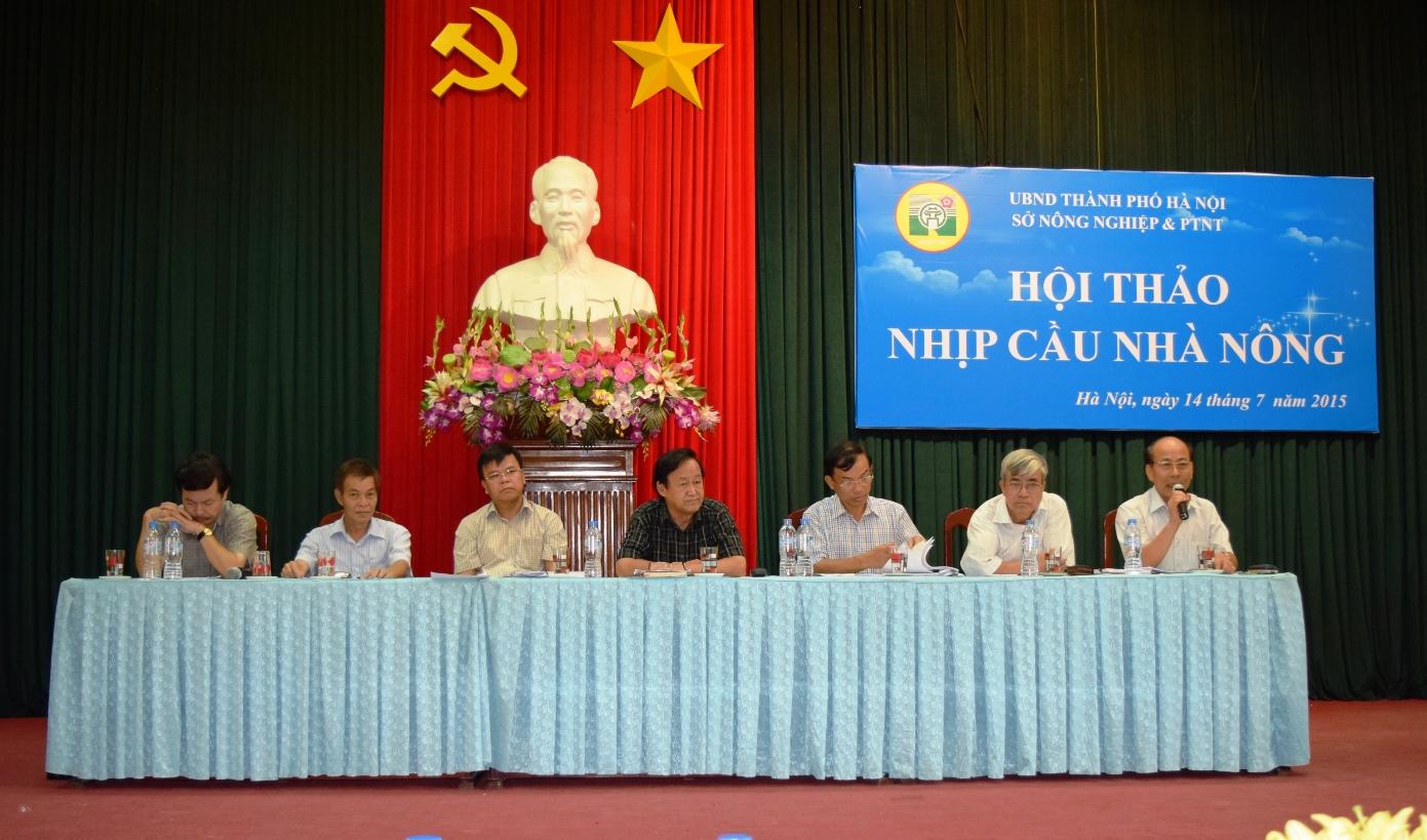 Hoi thao nhip cau nha nong - Thuong Tin - Ha Noi - 1