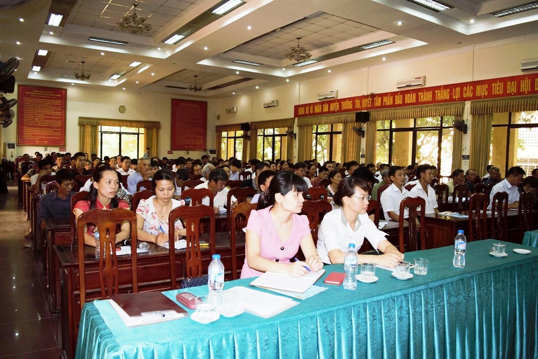 Hoi thao nhip cau nha nong - Thuong Tin - Ha Noi - 2