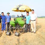 Mô hình cơ giới hóa trồng khoai tây bằng máy tại tỉnh Thanh hóa